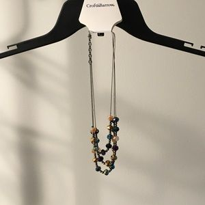NWT Croft & Barrow Bead Necklace New With Tag